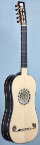 Baroque guitar after A.Voboam 1676