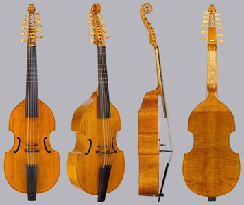 lyra viol with sympathetic strings